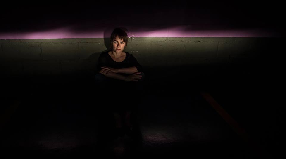 La escritora Sara Mesa. Fotografía de Juan María Rodríguez.