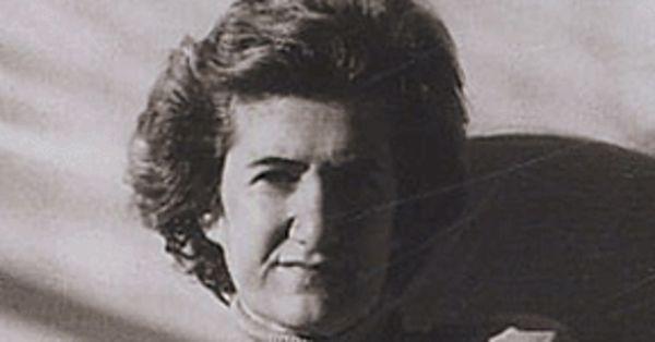 La poeta Silvia Baron Supervielle.