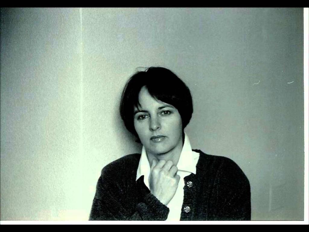 La poeta Chantal Maillard.