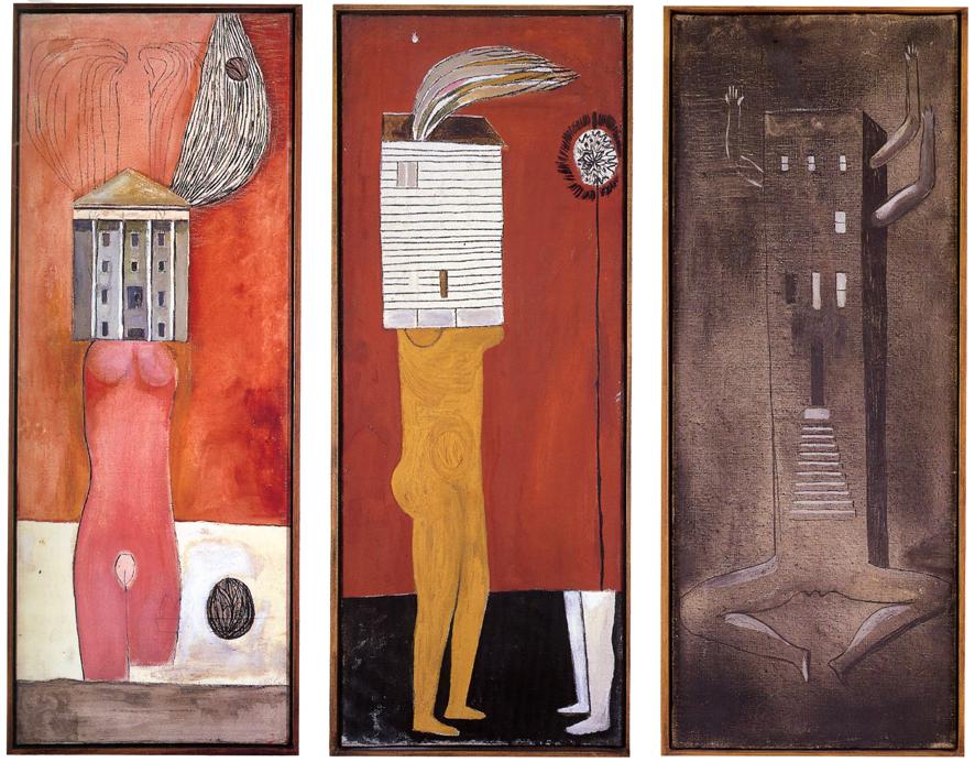 Serie de Femme maison de Louise Bourgeois.