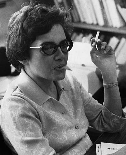 La escritora Miyó Vestrini.