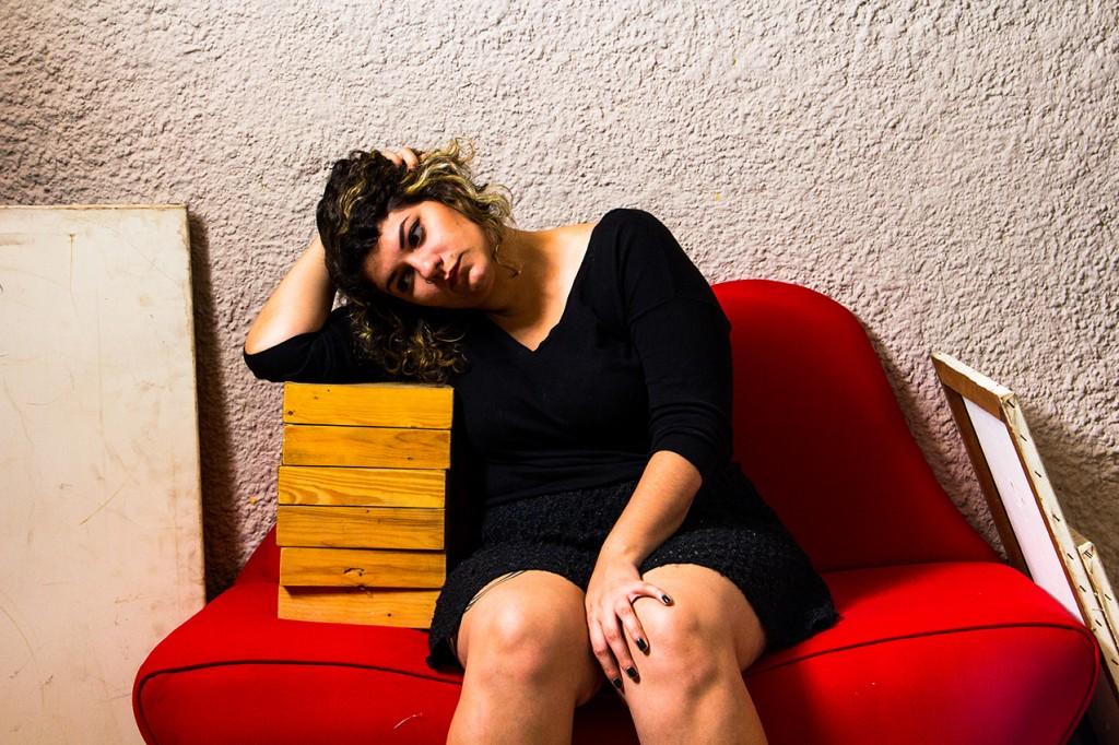 La diseñadora gráfica Faride Mereb.