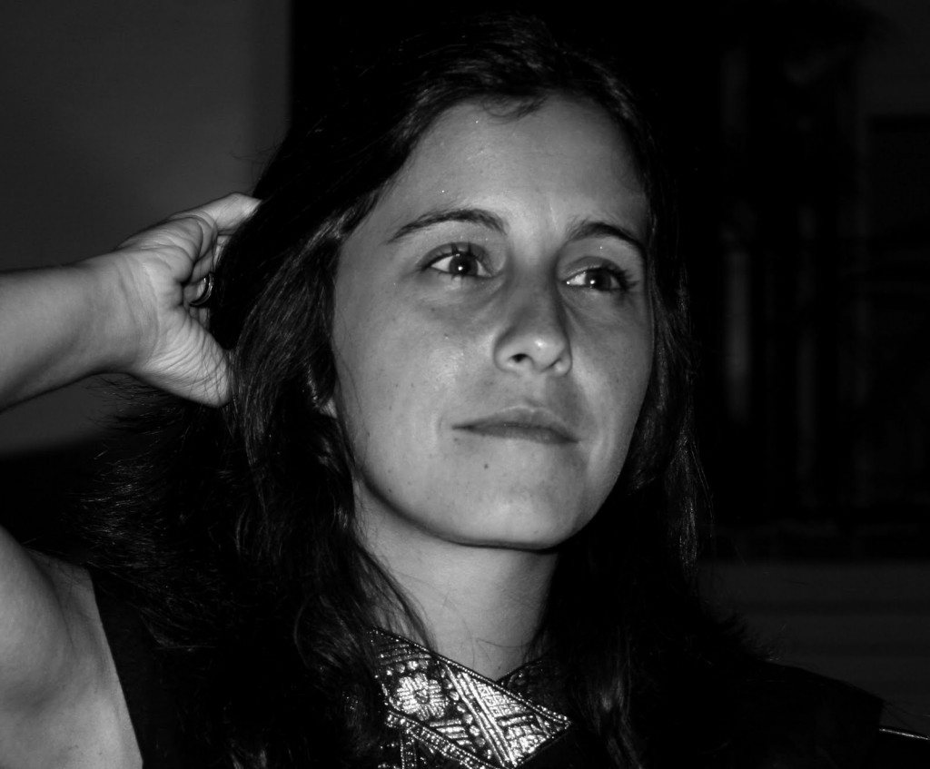 La poeta Filipa Leal.