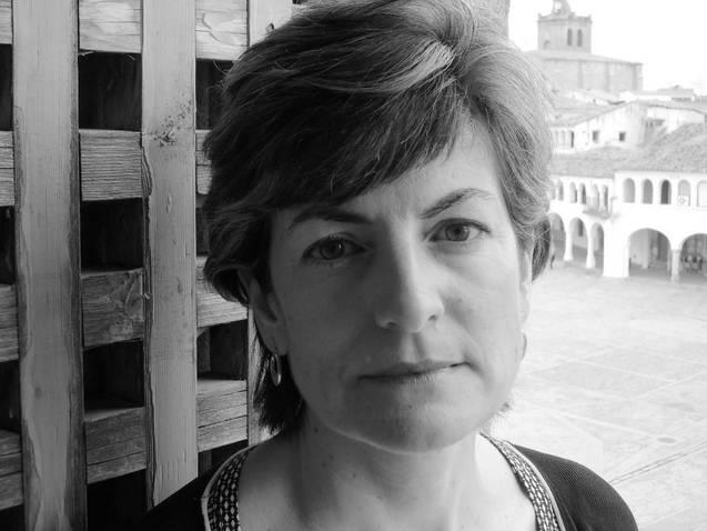 La poeta María Ángeles Pérez López.
