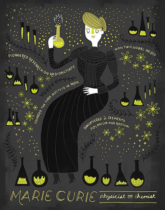 Un monólogo de Marie Curie