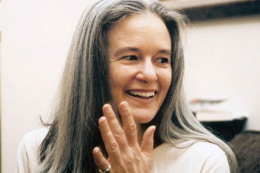 La poeta Sharon Olds.