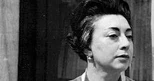 La poeta Rosario Castellanos.
