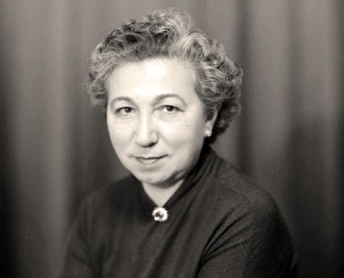 La poeta Ángela Figuera Aymerich.