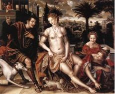 Jan Massys, David y Betsabe.