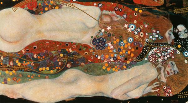 Serpientes de agua II, de Gustav Klimt.
