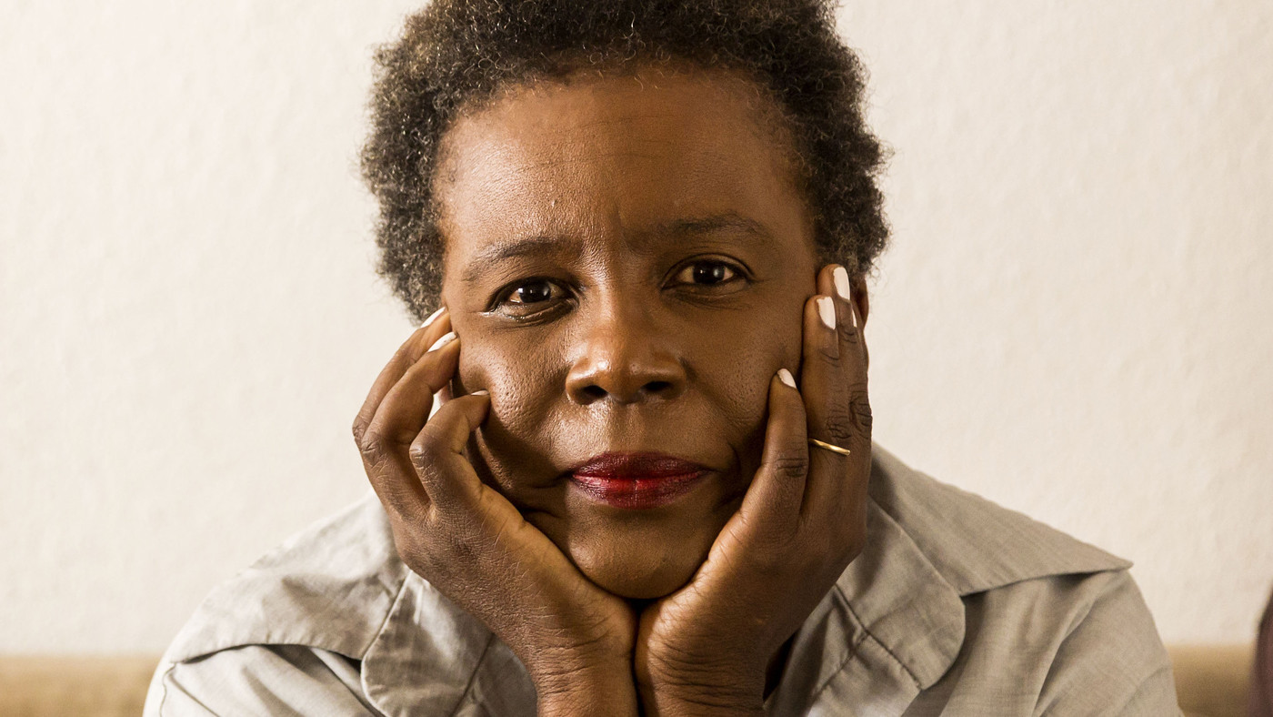 CLAREMONT, CA - SEPTEMBER 26, 2014 - Poet Claudia Rankine at her home, September 26, 2014. (Ricardo DeAratanha/Los Angeles Times)