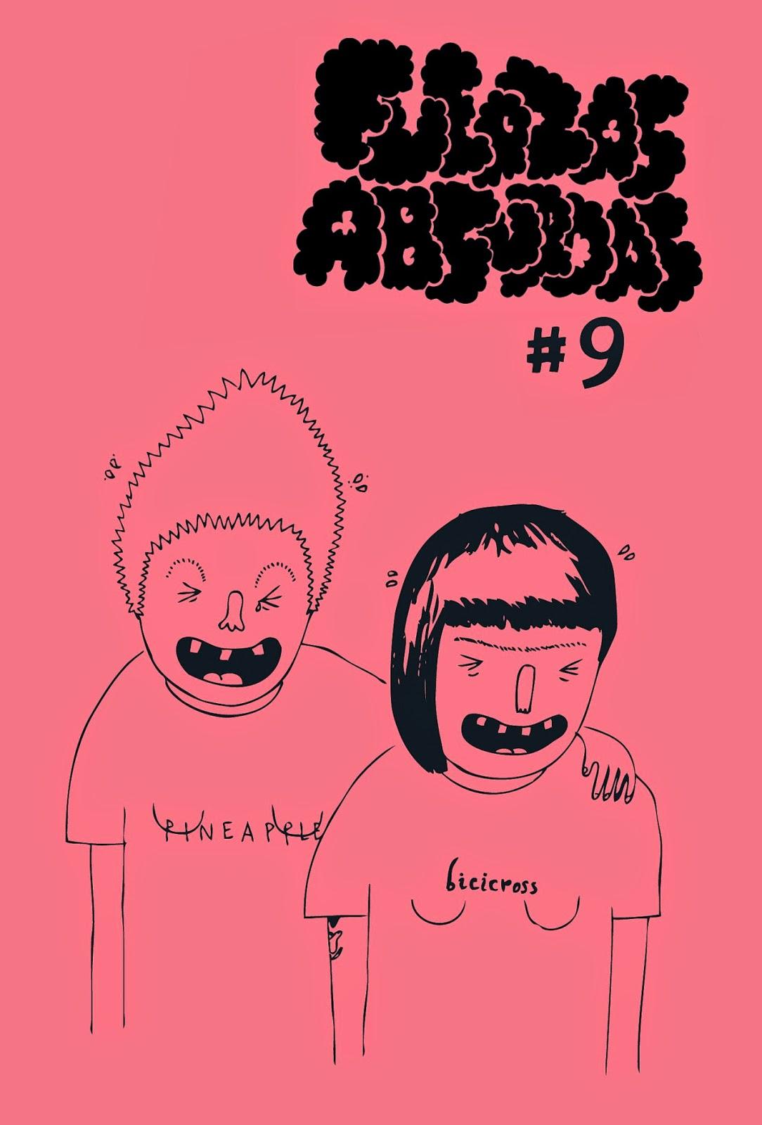 Número 9 de Fuerzas Absurdas, de Andrea Galaxina.