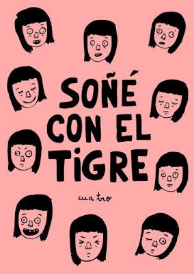 Portada del número 4 de Soñé con el tigre, de Andrea Galaxina.
