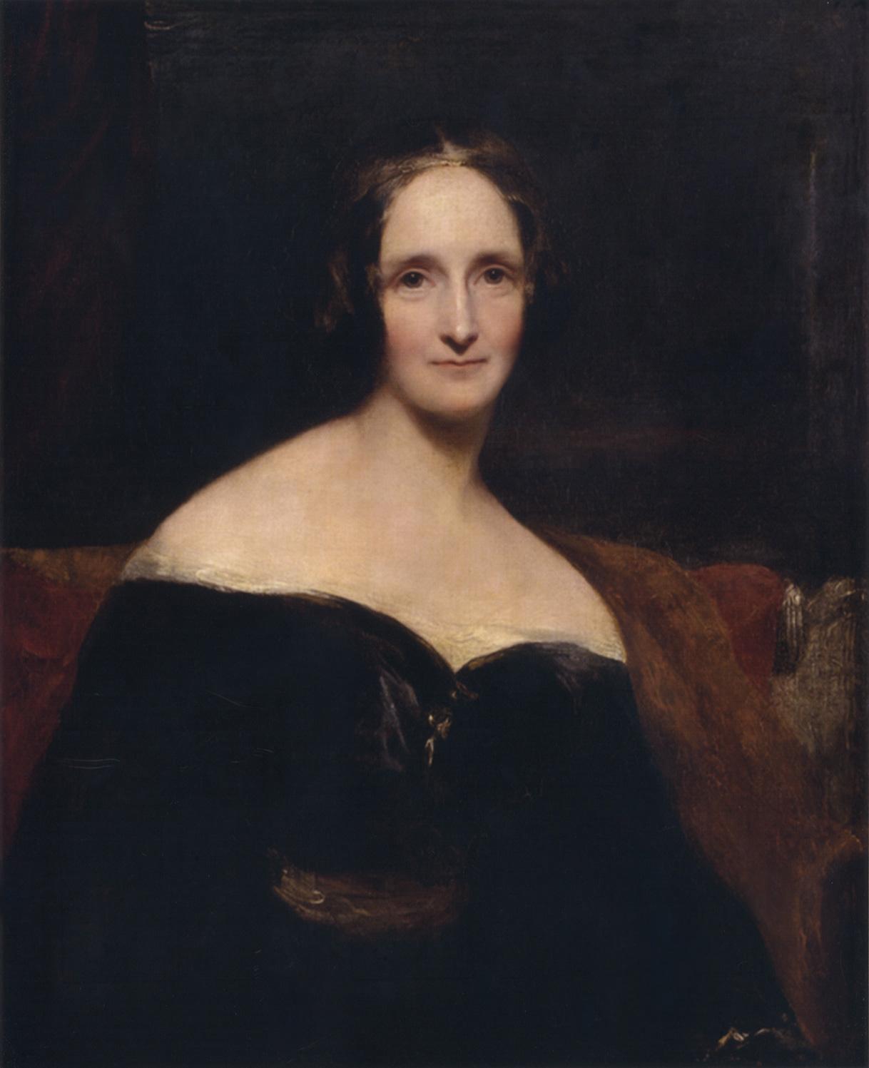 Mary Shelley.