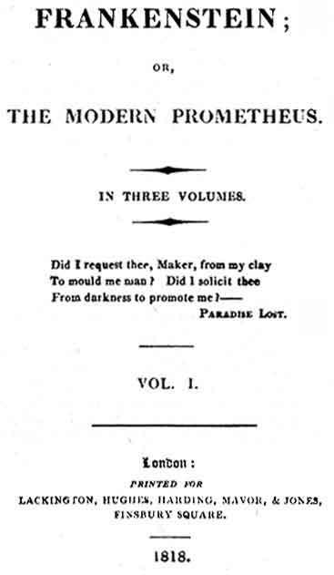Portada de la edición de 1818.