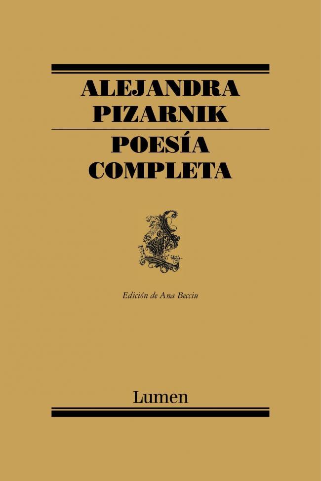 16. Poesía completa de Alejandra Pizarnik