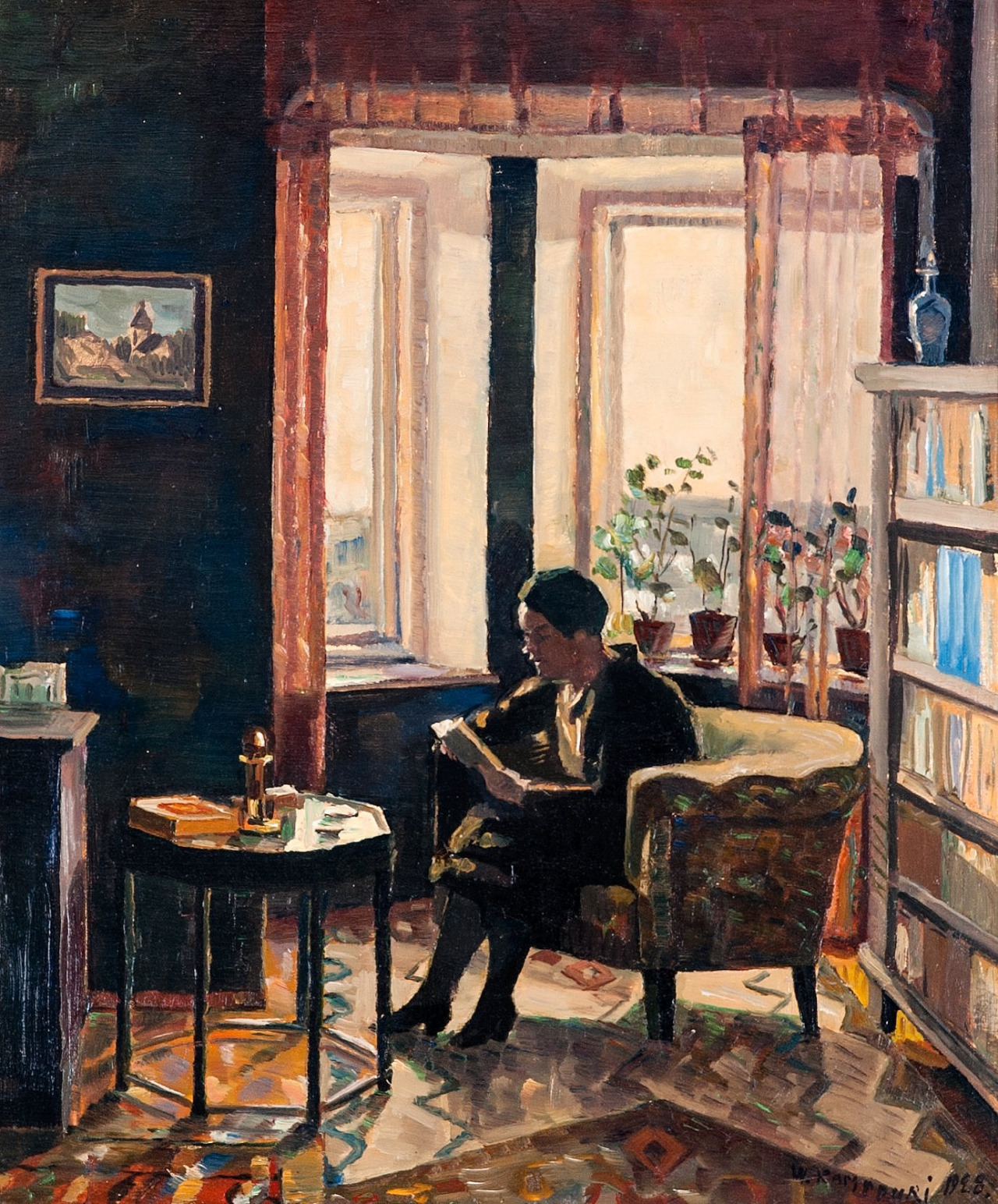 Reading de Väinö Kamppuri, 1928.