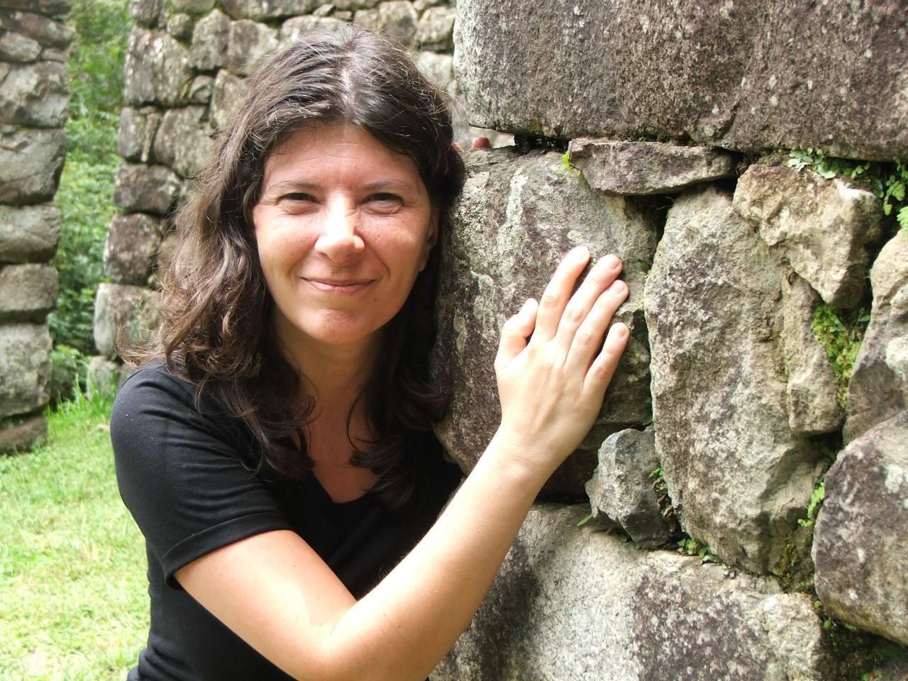La poeta Claudia Masin.